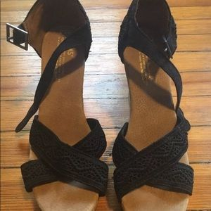 TOMS Sienna Wedge Sandals 7.5